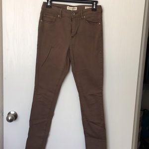 Pacsun Jeans Taupe Color Size 7